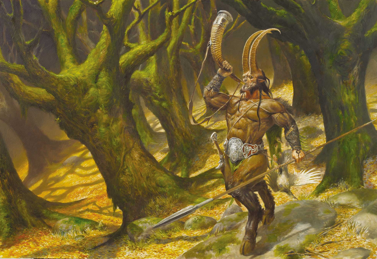 Fantasy art  - Page 25 Fantasy-Art-Adrian-Smith-The-Hunt