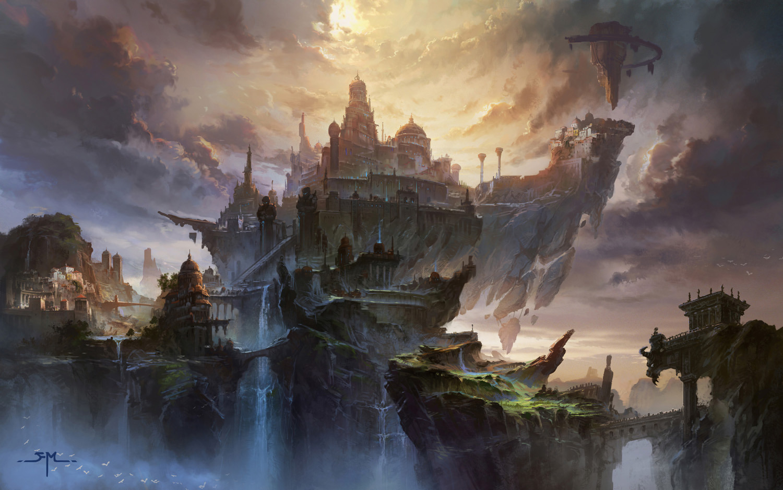 [Olympe] L'ascension [PV Grail] Digital-Painting-Ming-Fan-Olympus