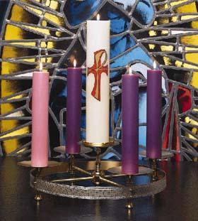 Lub Caij Tos Huab Tais Candle_advent
