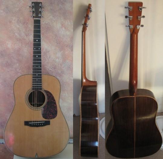 Les guitares d'un luthier aussi amateur que passionné ... 8small