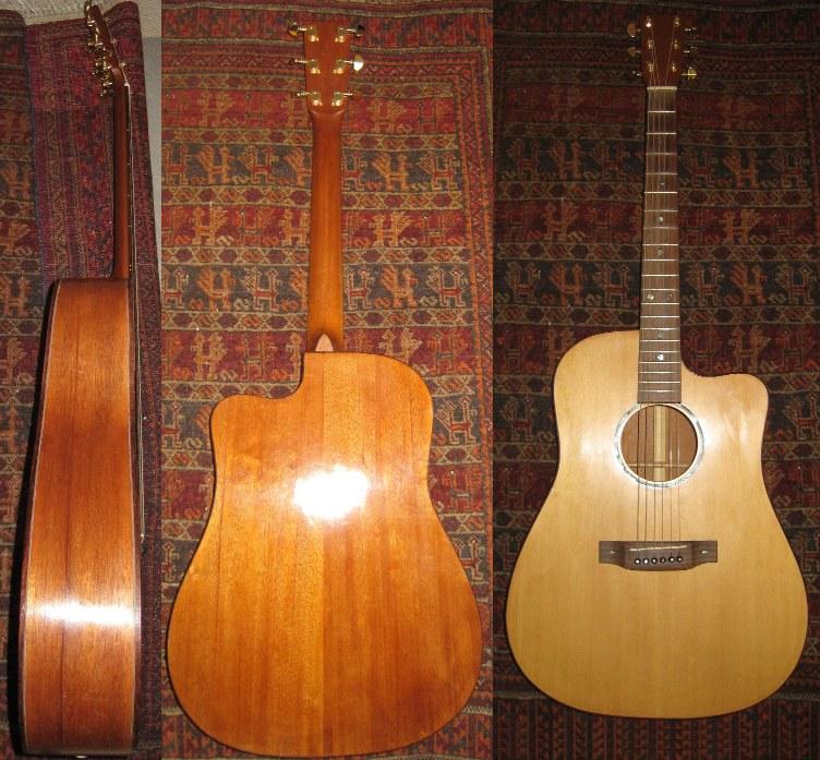 Les guitares d'un luthier aussi amateur que passionné ... 11-7