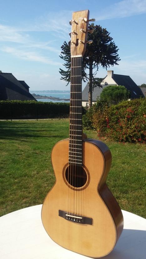 Les guitares d'un luthier aussi amateur que passionné ... - Page 28 20140920_114931