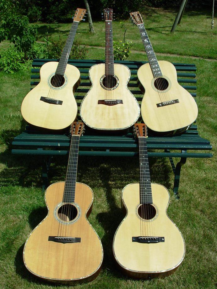 Les guitares d'un luthier aussi amateur que passionné ... - Page 2 DSCN0077