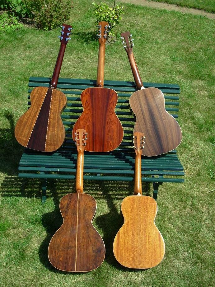 Les guitares d'un luthier aussi amateur que passionné ... - Page 2 DSCN0079