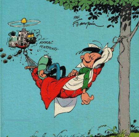 "Arme type ""sniper"" : conseils - Page 2 Gaston-lagaffe-sieste1"
