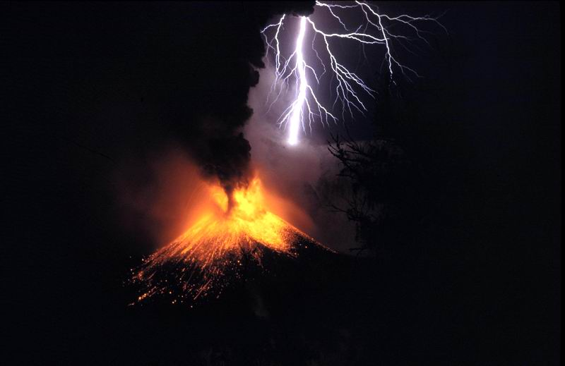 HUGE Changes Coming To Planet Earth – from Cosmic Convergence Lightning_volcano_01