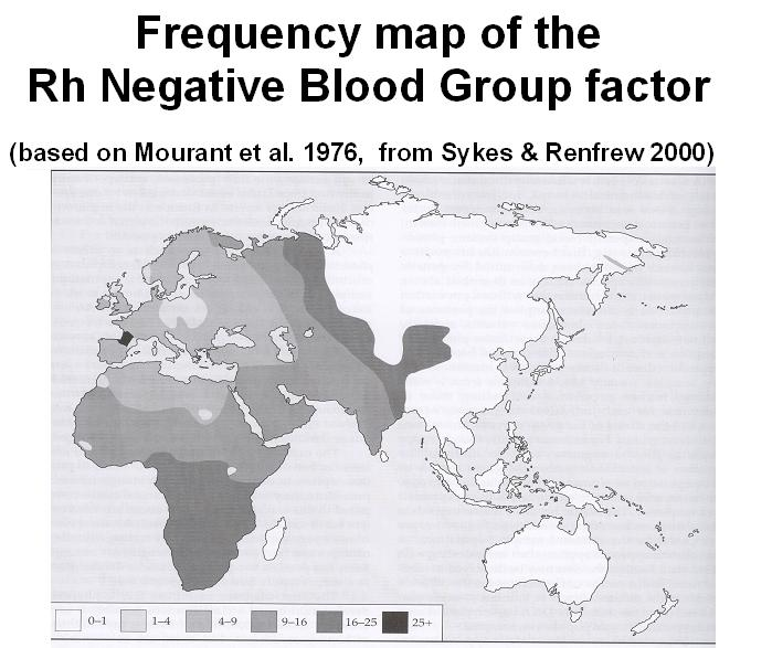 Governments Zero In On Folks With Rh-Negative Blood, Have Since World War II RHneg
