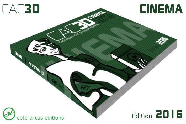 cac3d cinéma 2016 : Commande sur fana Collec CAC3D-2016