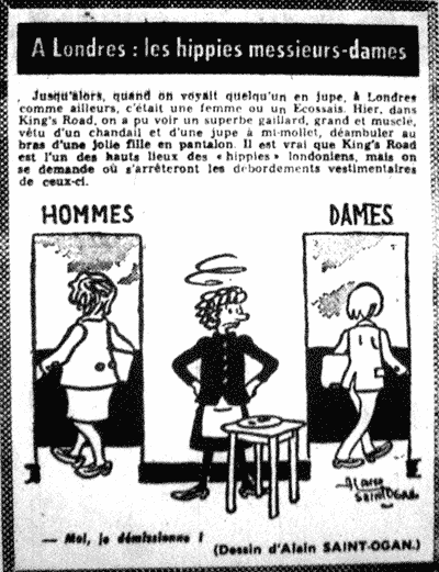 Article de Paris Match sur les hippies (Katmandou, Goa, Kaboul) Hippieshommesfemmes-nov1969