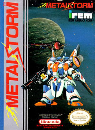connu - Présentez les jeux qui mérite d'être connu. Metal-storm-box-art