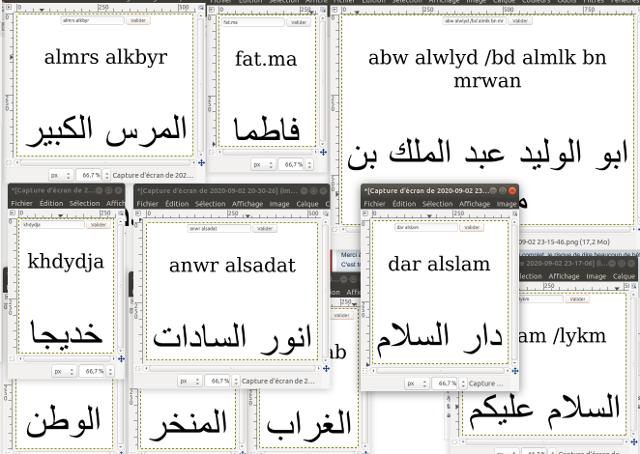 Calligraphie arabe pour les nuls (كاليغرافي اراب بور لنول) Demo_convertisseur_arabe