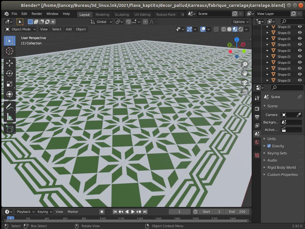 La 3D informatisée, avec Blender et sans - Page 3 Carrelage_en_perspective