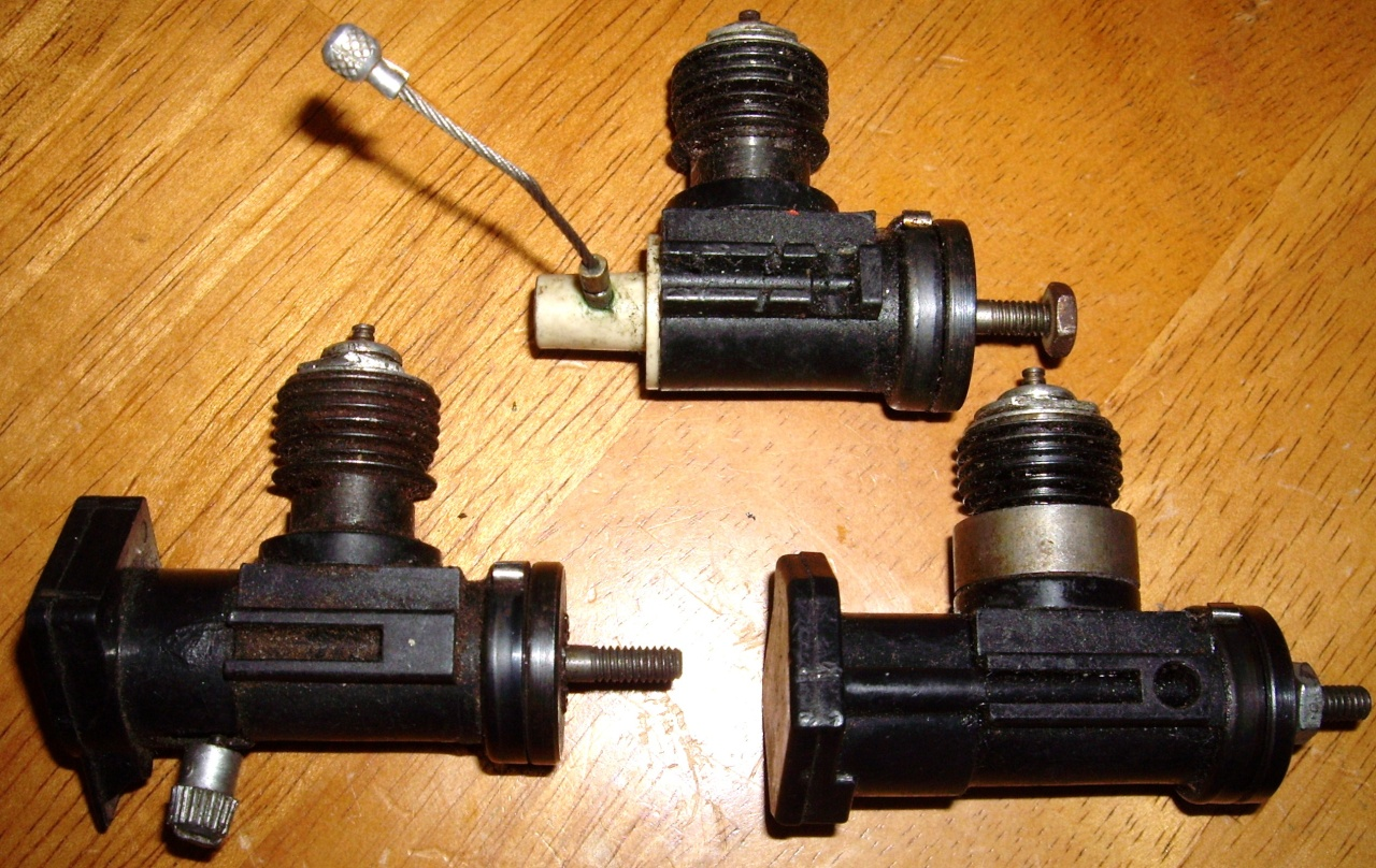 Testors plastic crank case engines Testor10