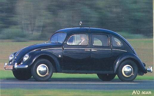 1959 Rometsch Cabriolet 1953_VW_Rometsch_4door_Taxi_1