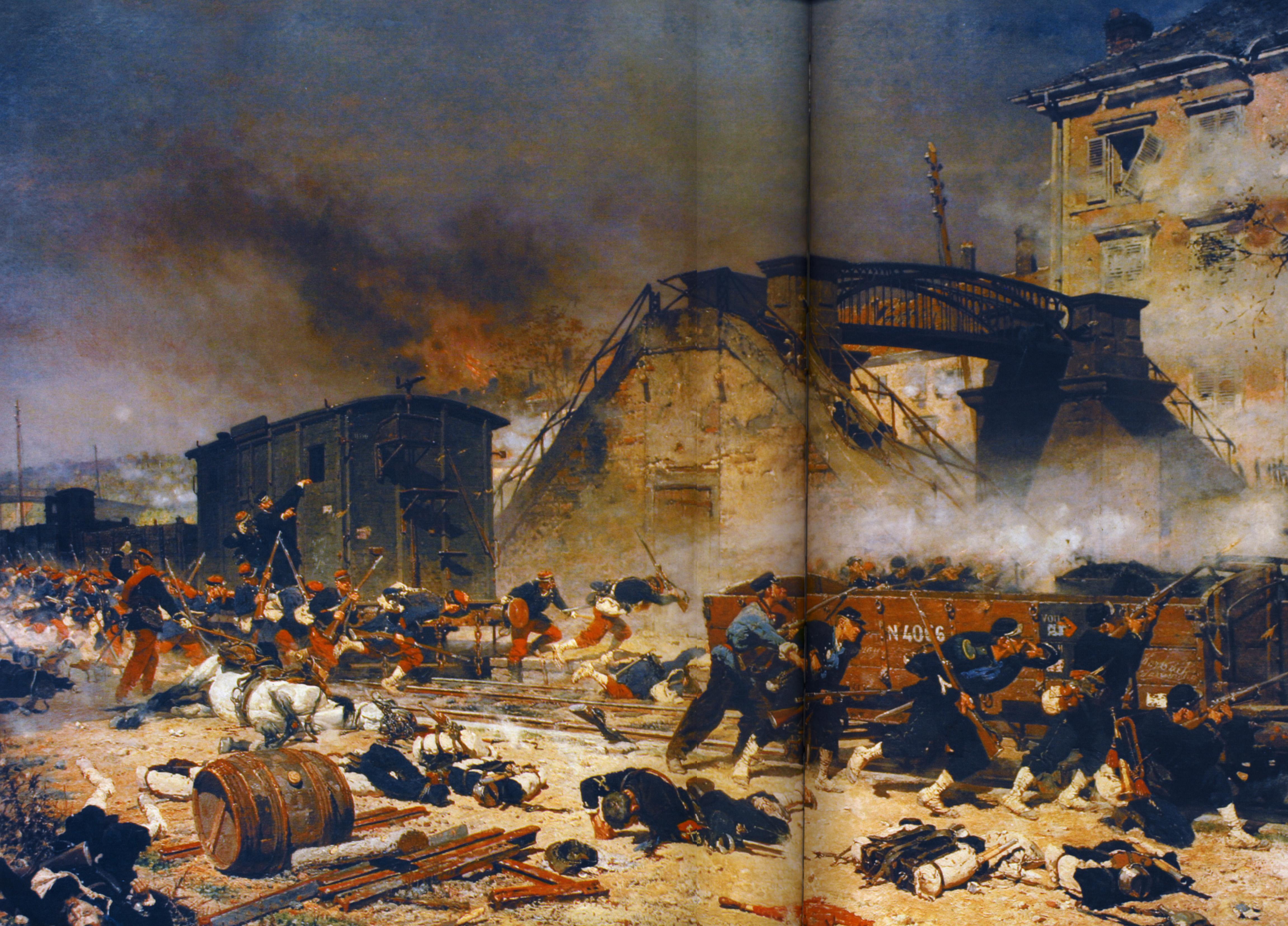 Devinette 1355150612-1870--neuville--attaque-de-le-gare-de-stiring--mairie-de-stiring-wendel
