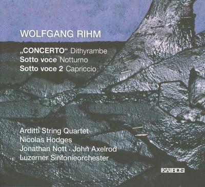 Wolfgang Rihm (°1952) - Page 2 MI0002855254