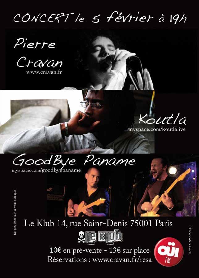 Pierre Cravan - Koutla - GoodBye Paname - 5 Février 2012 05022012%20Flyer%20Print
