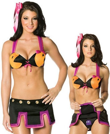 JOURNEE 29 : LE CALENDRIER HOT 2009 - Page 2 Pacman-costume