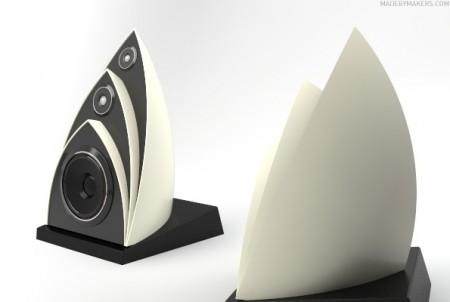 360 ° loa bởi Pieter Maes Opera-house-speakers-450x302