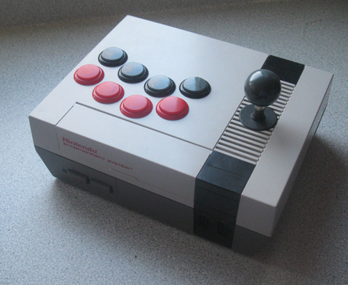 -=  CUSTOM NES  =- Nes-console-arcade-stick