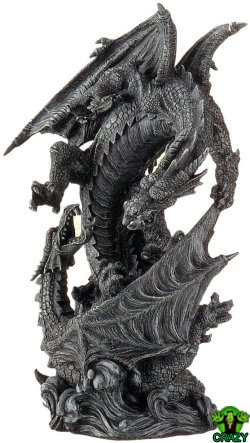 تماثيل ومنحوتات غريبة Dragon-sculpture