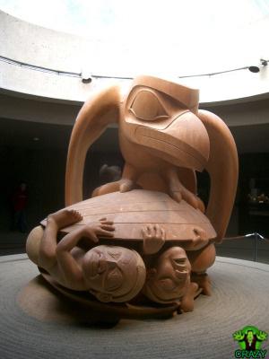 تماثيل ومنحوتات غريبة Museum-sculpture