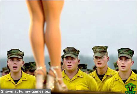 وجوه غريبة ومضحكة Horny-soldiers