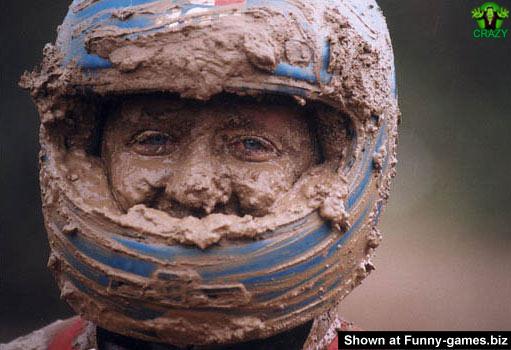 وجوه غريبة ومضحكة Mud-face