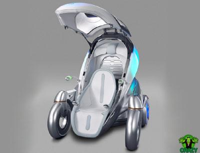 أغرب السيارات Futuristic-car-Toyota-PM