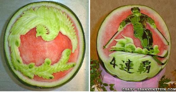 فنانين البطيخ Watermelon-great-decoration