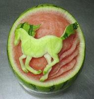 فنانين البطيخ Watermelon_horse