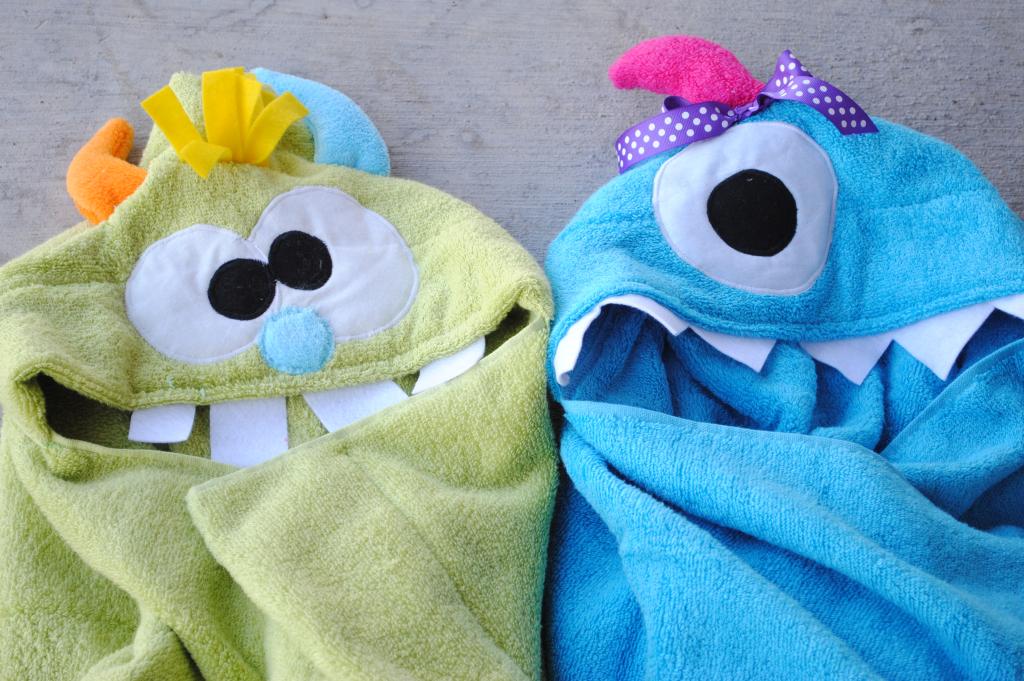 Cute little Monster Towels~ Monsterhoodedtoweltutorial-1024x681
