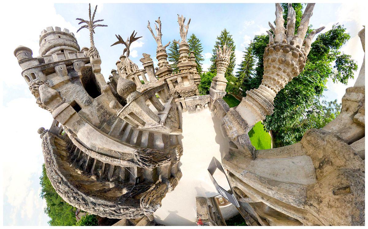 Le palais idéal du facteur Cheval LP3