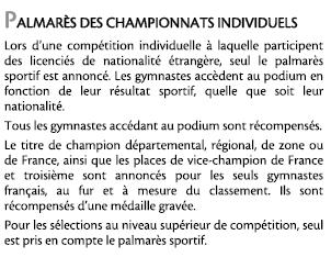 Championnat de France individuel 2015 à Pfastatt Classement_etranger
