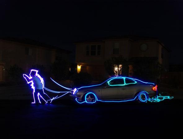 Svetlosni grafiti  - Page 5 Lightandcar