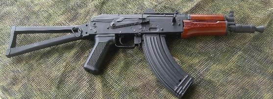 Review AKS-74U CYMA (wood version) 1209113161