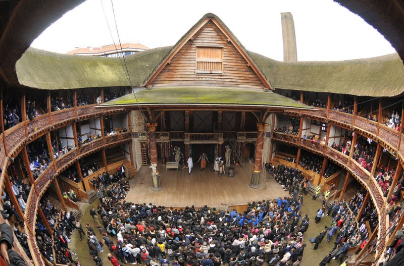 The William Shakespeare Conspiracy   Shakespeares-Globe-Theatre