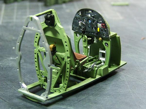 jeep indochine - spitfire indochine au 1/32éme 009