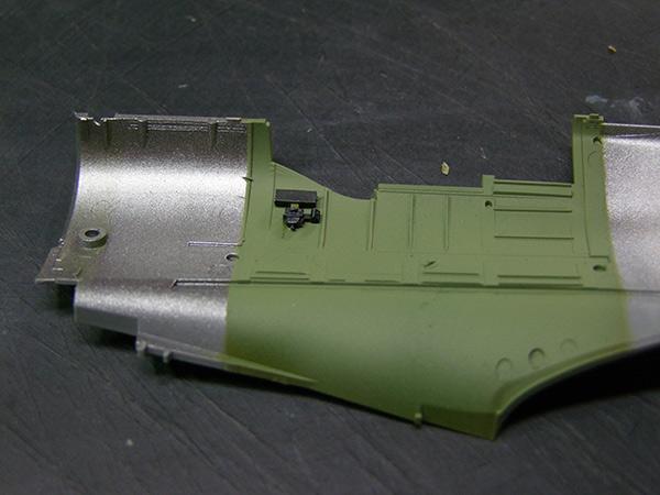 jeep indochine - spitfire indochine au 1/32éme Cockpit03