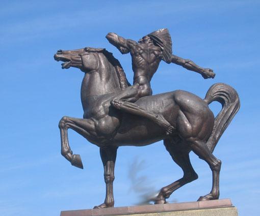 Vajarstvo-skulpture Indian2