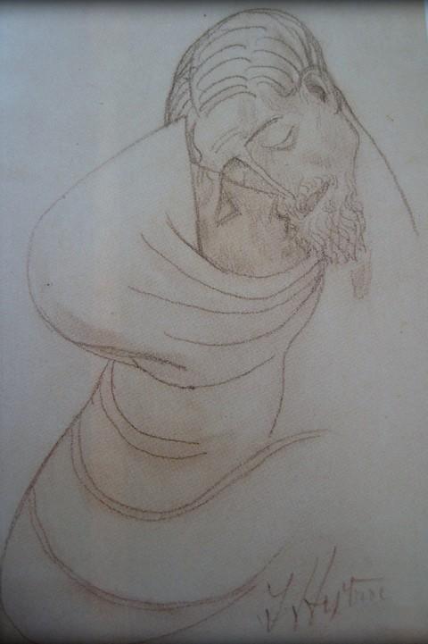 Grafika,crtež...  Ivan_mestrovic_crtez