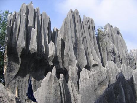 Mesta na Zemlji sa vanzemaljskim izgledom Stone-forest-d