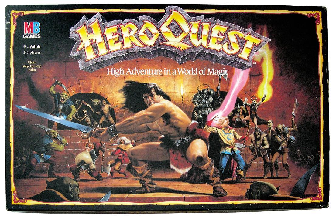 Calabozos y Dragones Heroquest