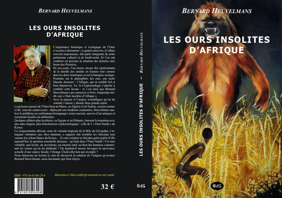 Les ours insolites d'Afrique, un inédit de Bernard Heuvelmans (juin 2015) Ours