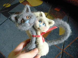 Мастер класс по созданию парных кошек     Elchy 4d8662cedd