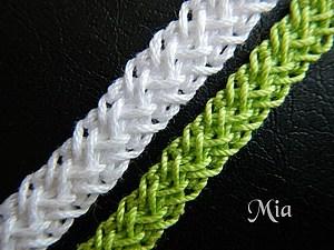 Шнуры, цепочки, тесьма - применение. Материалы, приспособления для их создания.  61a50b7a32
