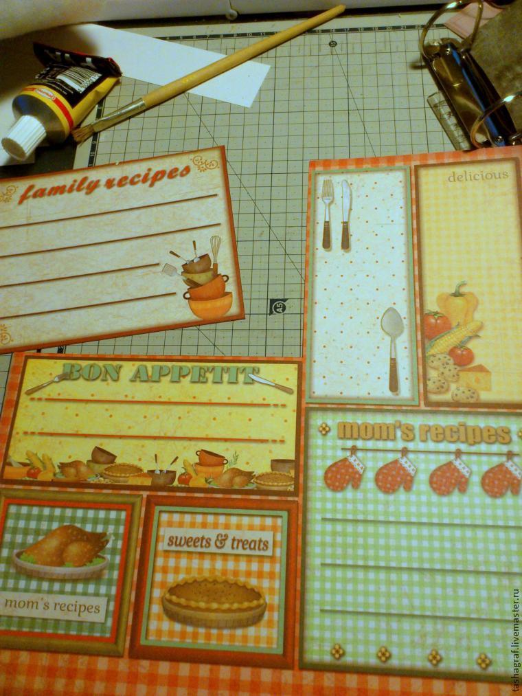 кулинарная книга на доске своими руками 140913183053