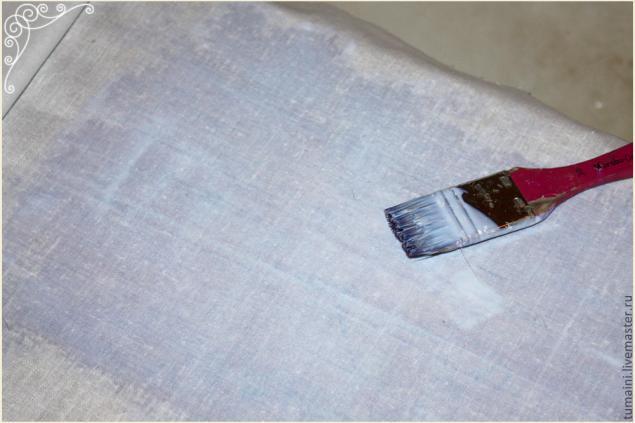 """""""Вживление"""" распечатки в ткань. 130531172822"""