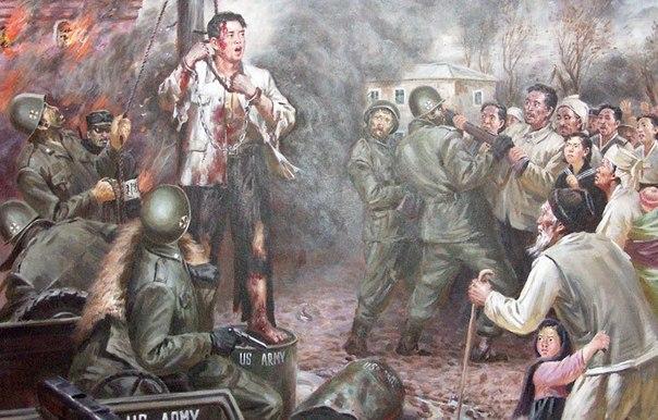Корейская война в картинах корейских художников. Dew2GmkjlTk