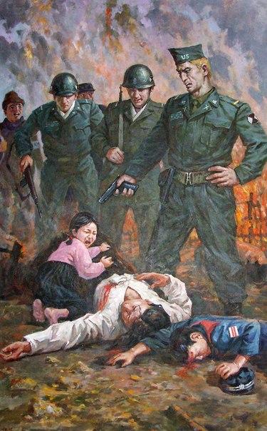 Корейская война в картинах корейских художников. QCK5hAM9kqE